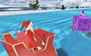 3D Santa Racing