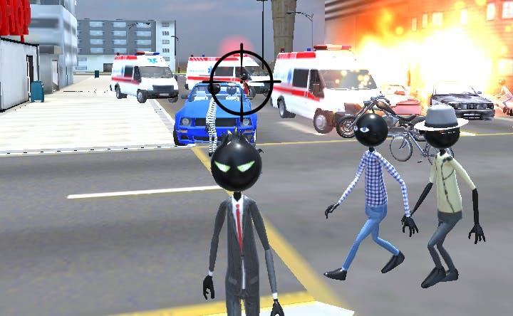 Amazing Crime Strange Stickman