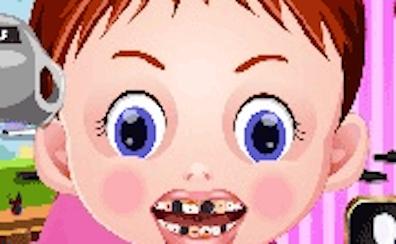 Baby Emma at the Dentist