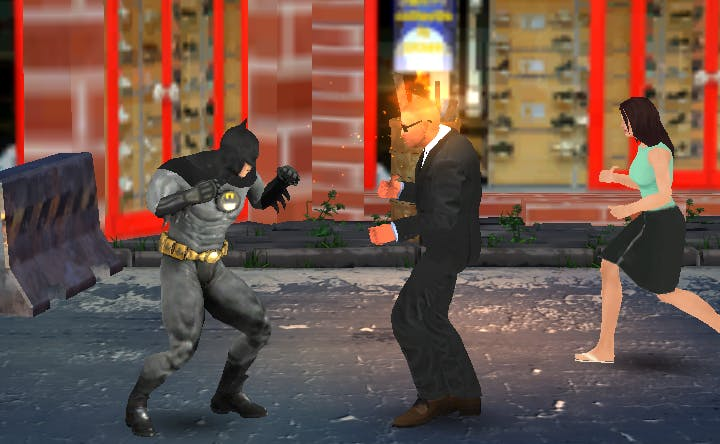 Bat Hero: Immortal Legend Crime Fighter