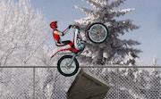 Bike Trial Snow Ride