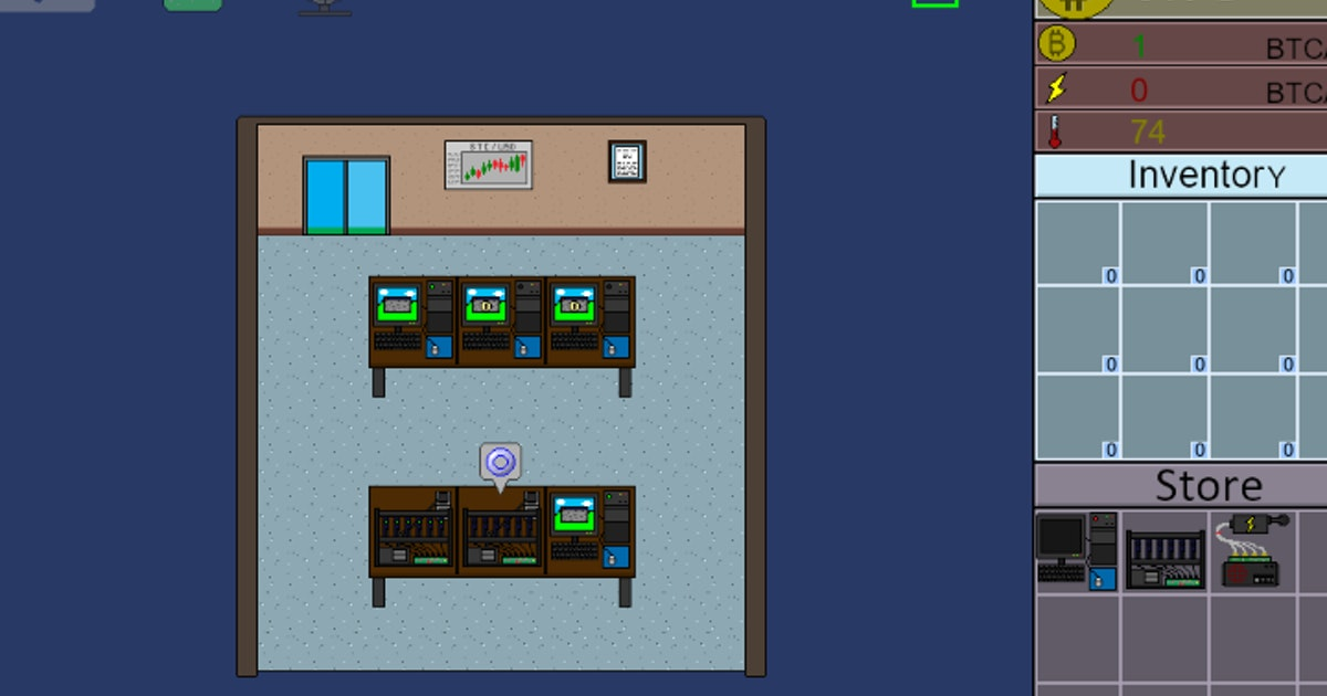 Bitcoin Mining Simulator Play Bitcoin Mining Simulator On Crazy Games