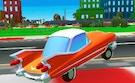 Cartoon Car Crash Derby Destruction World