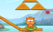 Cat Around the World: Alps Lakes