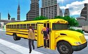 City Tour Bus Coach Driving Adventure