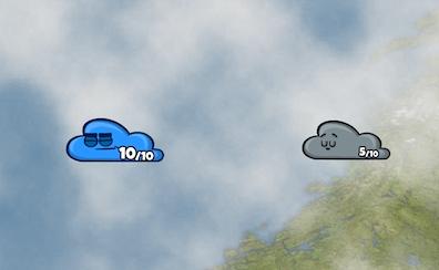 Cloud Wars: Sunny Day 2