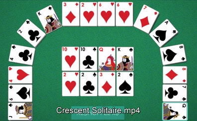 Crescent Solitaire Full Screen