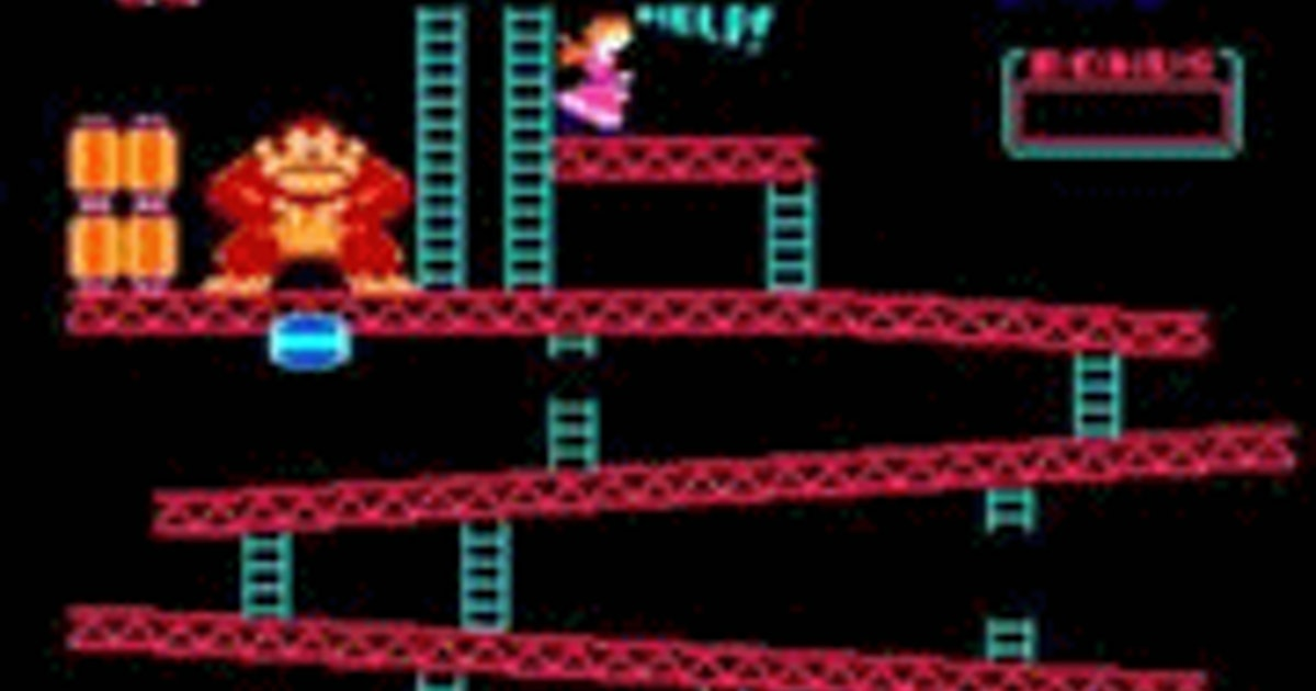 Donkey Kong Juega A Donkey Kong En 1001juegos