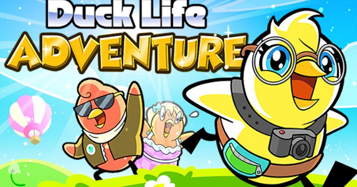 Duck Life: Adventure (Demo) - Play Duck Life: Adventure (Demo) on CrazyGames