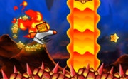 Fire and Water Geometry Dash