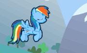 Flappy Rainbow Pony