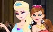 Frozen Dressup: Snow Prom