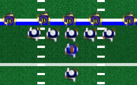 4th and Goal 2015 Game - Play online at Y8.com