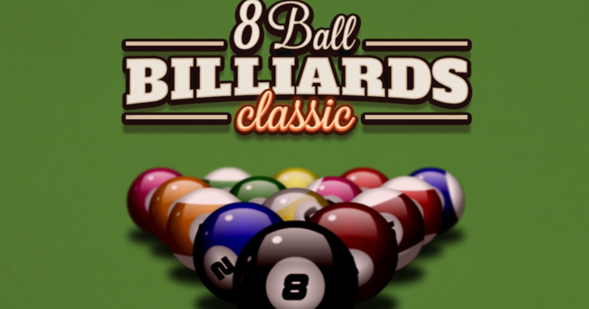 Play 8 Ball Billiards Classic On Crazy Games
