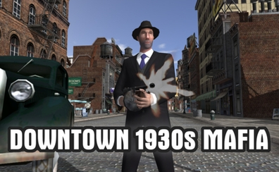 Downtown 1930s Mafia