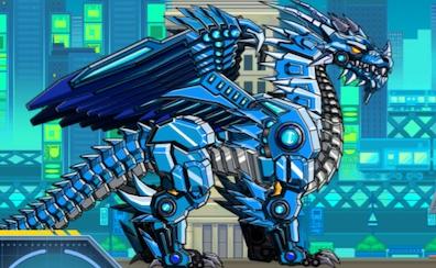Robot Ice Dragon