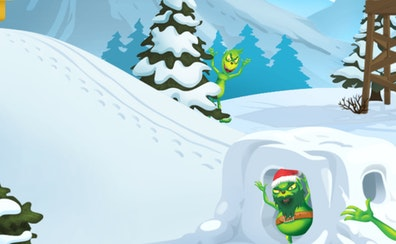 Monster Snowball Fight