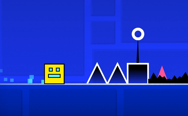 Geometry Dash Online Play Geometry Dash Online On Crazy Games