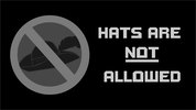 Hats Are Not Allowed