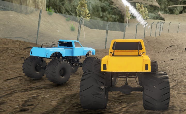 Heavy Muscle Cars Offroad