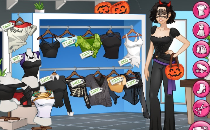 Free up girl dress games for Anime (Page