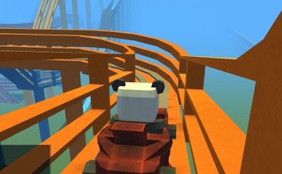 Kogama Roller Coaster World