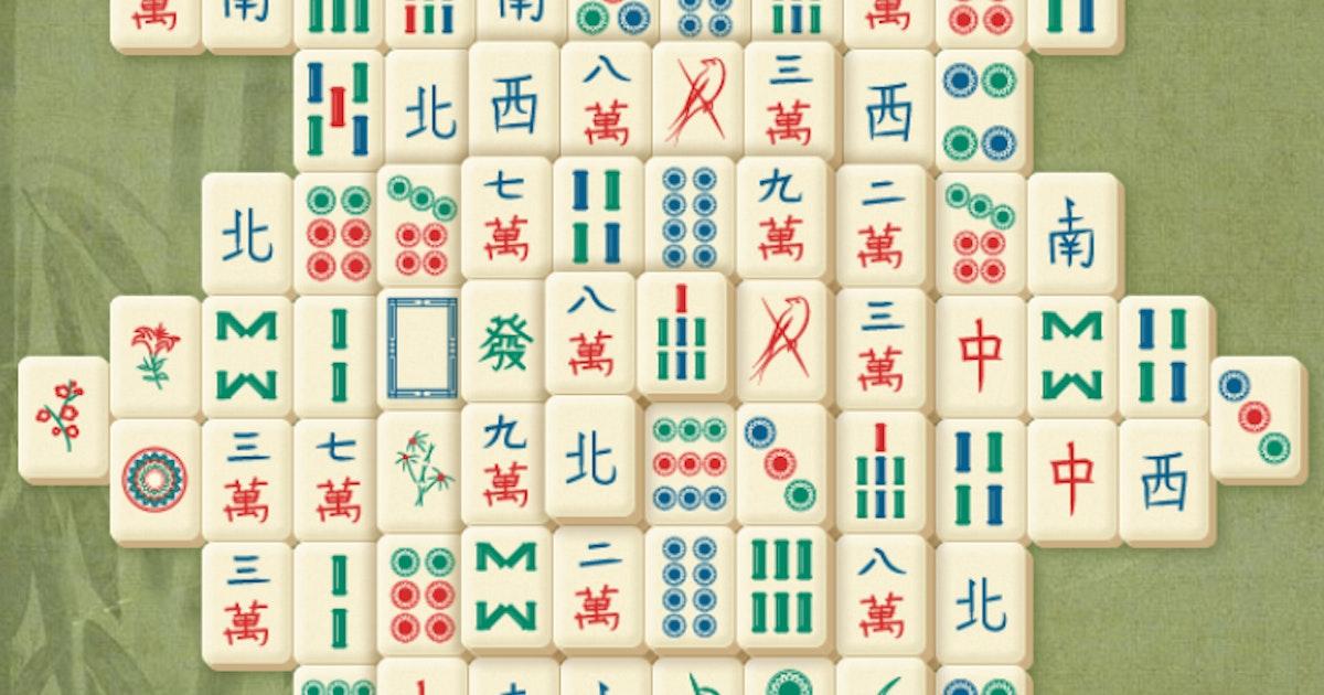 Mahjong Gratis Online