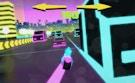 Motorbike Neon City