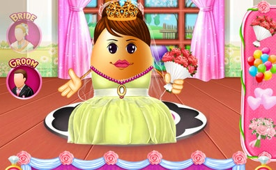 Mr and Mrs Easter Egg Wedding