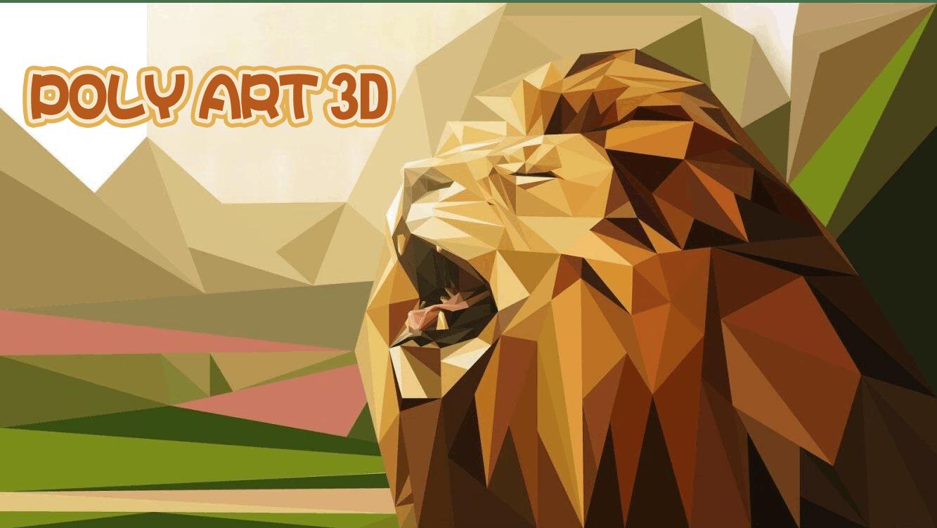Poly Art 3d Play Poly Art 3d On Crazy Games