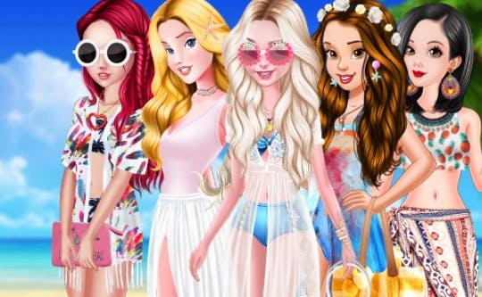 Princesses Swimwear Fashion
