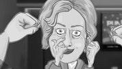 Punch Hillary