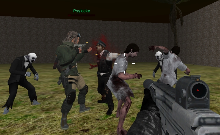 aliens vs zombies games online free