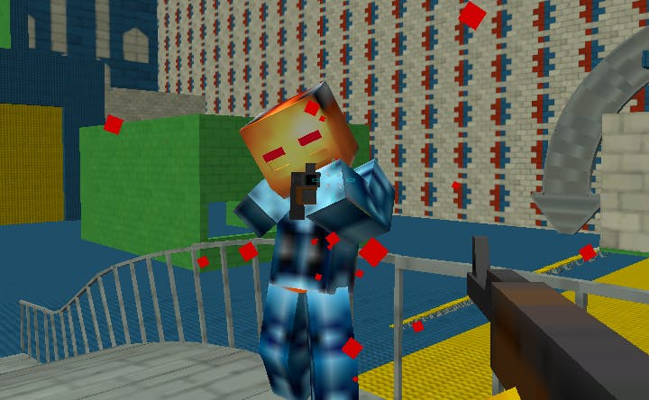 Revenge of the Pixelman