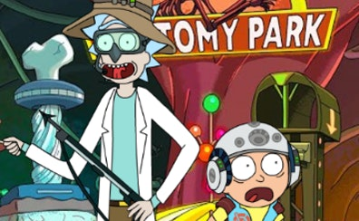 Rick and Morty Dress Up