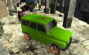 Russian UAZ 4x4 Driving Simulator