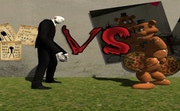Slenderman VS Freddy The Fazbear