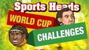 Sports Heads Soccer World Cup