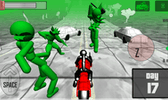 Stickman Zombie: Motorcycle