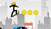 Stickman Skate: 360 Epic City