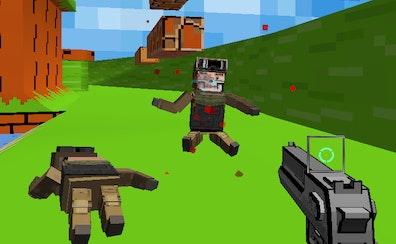 Strike Combat Pixel Arena 3D