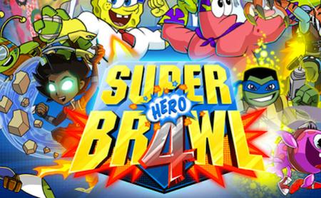 Superhero Brawl 4