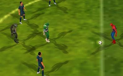 Super Hero Soccer World Cup