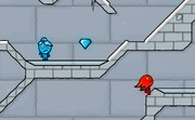 Fireboy and Watergirl in the Ice Temple