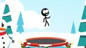 Trampoline Stickman